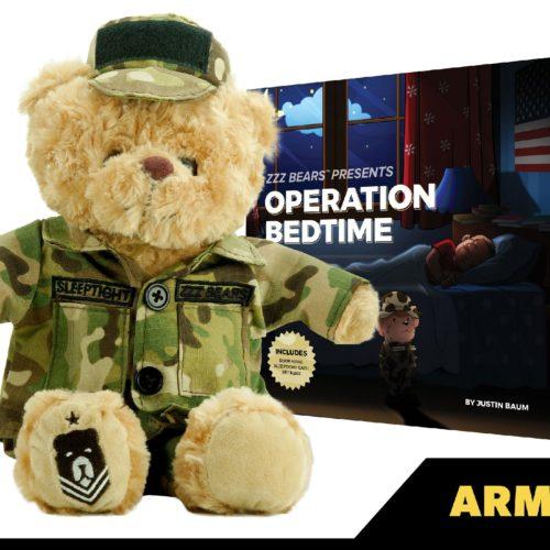 Army teddy bear
