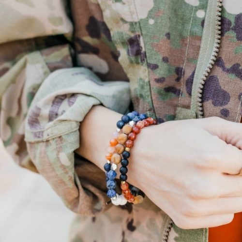Courage Military Tribute Bracelet