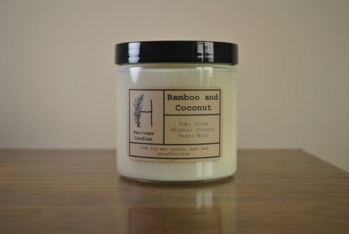 Bamboo and Coconut 16oz