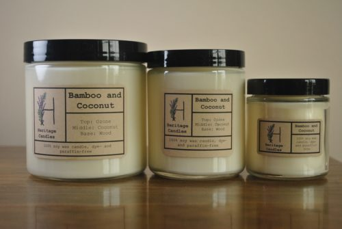Bamboo and Coconut Set of 3