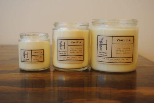 Vanilla Set of 3