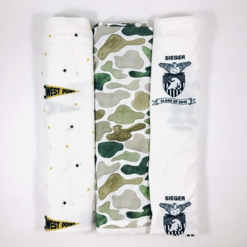Military Themed Swaddle Blankets