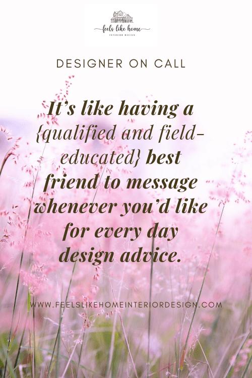 Designer on Call