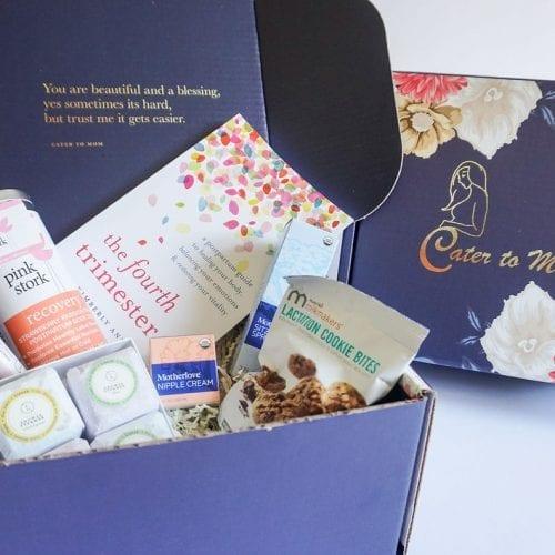 postpartum gift box, new mom gift