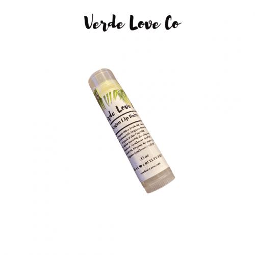 vegan lip balm by verde love co