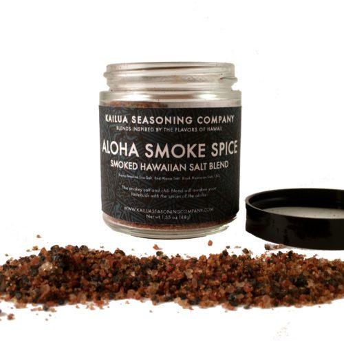 Aloha Smoke Spice Smoked Hawaiian Seasoned Salt Blend
