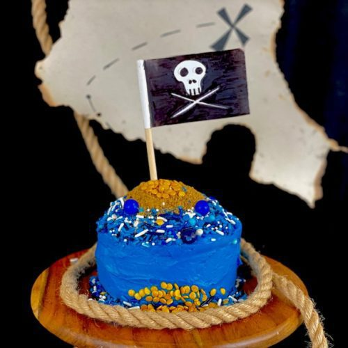 Kids' Cake Boxes pirate cake is perfect for all your pirate celebrations